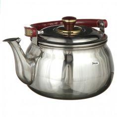 Акция на Чайник со свистком музыкальный A-PLUS 24 см 4 л (9031) для садиков от Allo UA