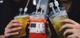 Акция на До 10 фирменных коктейлей-капельниц в баре Морфий от Pokupon