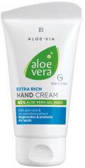 Акция на Питательный крем для рук LR Aloe Via Aloe Vera 75 мл (20613-301) (ROZ6400106714) от Rozetka