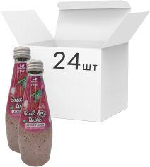 Акция на Упаковка напитка Magic Fruit Вкус личи с семенами базилика 0.29 л х 24 бутылки (8859022406022) от Rozetka