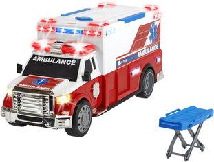 Акция на Автомобиль скорой помощи Dickie Toys с носилками (1137010) (4006333060915) от Rozetka