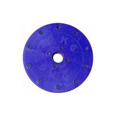 Акция на Диск для штанги и гантели Титан 2 кг (блин тренировочный, металлопластиковый) от Allo UA