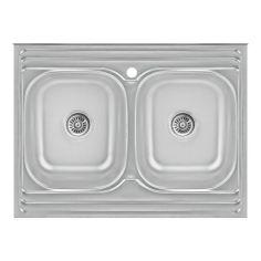 Акция на Кухонная мойка Lidz 6080 Satin 0,8 мм (LIDZ6080DBSAT8) от Allo UA