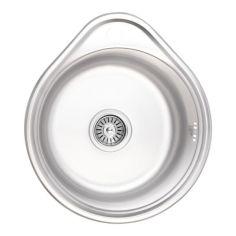 Акция на Кухонная мойка Lidz 4843 Micro Decor 0,6 мм (LIDZ4843MDEC06) от Allo UA