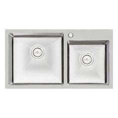 Акция на Кухонная мойка Qtap S7843 2.7/1.0 мм (QTS784310) (SD00040310) от Allo UA