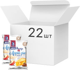 Акция на Упаковка каш овсяных Овсянушка Яблочный пирог с корицей 40 г х 22 шт (4820039841957) от Rozetka