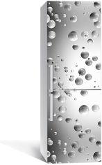 Акция на Виниловая 3D наклейка на холодильник Zatarga Брызги белого глянца 650х2000 мм (Z185111re) от Rozetka