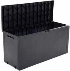 Акция на Ящик для хранения Keter Emily Box 270 л Серый (7290112634597) от Rozetka