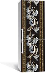 Акция на Виниловая 3D наклейка на холодильник Zatarga Завитки роскоши 650х2000 мм (Z183267re) от Rozetka