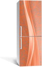 Акция на Виниловая 3D наклейка на холодильник Zatarga Кирпичные волны 650х2000 мм (Z183202re) от Rozetka