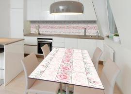 Акция на Виниловая 3D наклейка на стол Zatarga Британское очарование 600х1200 мм (Z183081st) от Rozetka