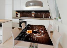 Акция на Виниловая 3D наклейка на стол Zatarga Латте макиато 650х1200 мм (Z183163/1st) от Rozetka