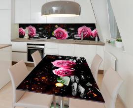 Акция на Виниловая 3D наклейка на стол Zatarga Божественный бутон 600х1200 мм (Z185190st) от Rozetka