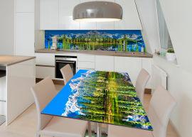 Акция на Виниловая 3D наклейка на стол Zatarga Обворожительный Байкал 600х1200 мм (Z183164st) от Rozetka
