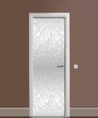 Акция на Виниловая 3D наклейка на дверь Zatarga Серебряный шик 650х2000 мм (Z182973dv) от Rozetka