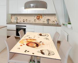 Акция на Виниловая 3D наклейка на стол Zatarga Поэма кондитеру 650х1200 мм (Z185076/1st) от Rozetka