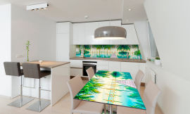 Акция на Виниловая 3D наклейка на стол Zatarga Парадиз 650х1200 мм (Z181002/1st) от Rozetka