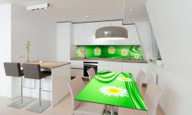 Акция на Виниловая 3D наклейка на стол Zatarga Сияние весны 650х1200 мм (Z181242/1st) от Rozetka