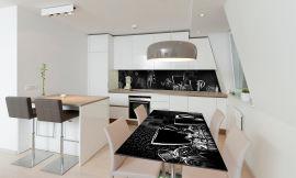 Акция на Виниловая 3D наклейка на стол Zatarga Богатство и сила 650х1200 мм (Z181026/1st) от Rozetka