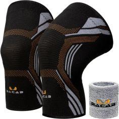Акция на Компрессионные наколенники BACAB  (2 шт) - Бандаж для коленного сустава премиум-класса (XL) от Allo UA