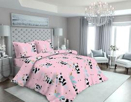 Акция на Простынь MirSon Бязь 17-0505 Panda pink 150х220 см (2200003619249) от Rozetka