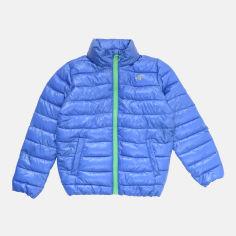 Акция на Демисезонная куртка детская 4F HJL21-JKUMP001 146 см Синяя (5903609024314) от Rozetka