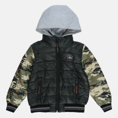 Акция на Демисезонная куртка Evolution 10-ВМ-19 128 см Черная (4823078562487) от Rozetka