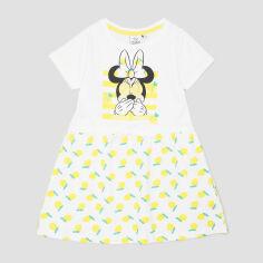 Акция на Платье Disney Minnie UE1019 104 см Белое (3609084855772) от Rozetka