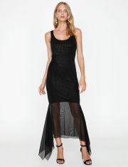 Акция на Платье Koton 9KAK84447FK-999 M Black (8681908298274) от Rozetka