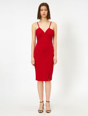 Акция на Платье Koton 0YAF80341GK-420 S Red (8682361176253) от Rozetka