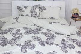 Акция на Комплект постельного белья MirSon Сатин 22-1279 Butterflies at dawn Детский (2200003579598) от Rozetka