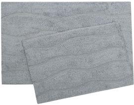 Акция на Набор ковриков Shalla Melba mavi голубой 40х60 см + 50х80 см (svt-2000022281508) от Rozetka