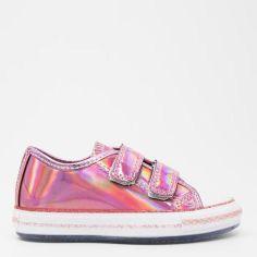 Акция на Кеды детские VUVU KIDS Leather- Pink, lace, sequined 3736 1.5 32 20.1 см Розовые (8380001373632) от Rozetka