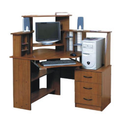 Акция на Компьютерный стол Nika Мебель Дорис(103754) от Allo UA