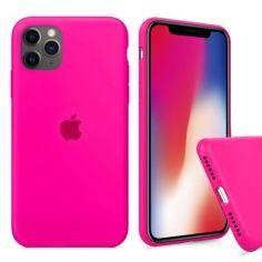Акция на Чохол Wemacy Silicone Full case для iPhone 11Pro Max Electric pink   (AFC-0311) от Allo UA