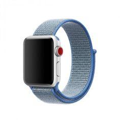 Акция на Ремінець HardShell Neylon Band для Apple Watch series 1/2/3/4/5 42mm/44mm Tahoe Blue   (NL-0043) от Allo UA