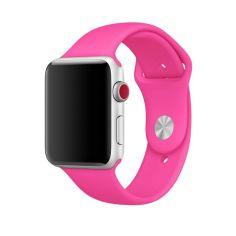 Акция на Cиліконовий ремінець Sport Band для годинника Apple Watch 38mm/40mm Electric pink   (SB-0023) от Allo UA