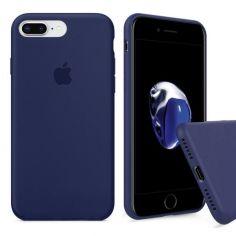 Акция на Чохол Wemacy Silicone Full case для iPhone 7/8 Plus Midnight Blue   (AFC-0121) от Allo UA