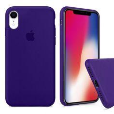 Акция на Чохол Wemacy Silicone Full case для iPhone Xr Purple   (AFC-0184) от Allo UA