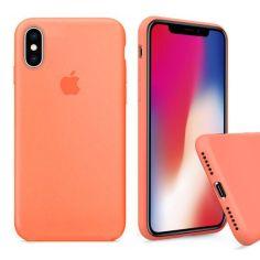 Акция на Чохол Wemacy Silicone Full case для iPhone Xs Max Papaya   (AFC-0231) от Allo UA