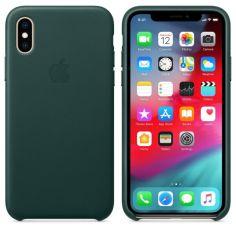 Акция на Чохол ARS Leather Case для iPhone X/XS Forest Green   (ALC-0017) от Allo UA