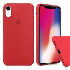 Акция на Чохол Wemacy Silicone Full case для iPhone Xr Red   (AFC-0183) от Allo UA