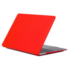 Акция на Чохол-накладка HardShell Case для Macbook Air 13.3'' A1369/A1466 Matte Red   (MC-0008) от Allo UA