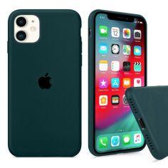 Акция на Чохол Wemacy Silicone Full case для iPhone 11 Forest green   (AFC-0259) от Allo UA