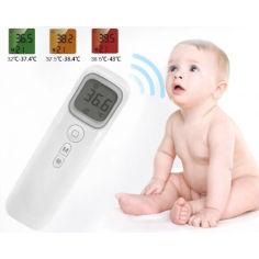 Акция на Термометр инфракрасный бесконтактный для измерения температуры Shun Da цифровой (WT001) от Allo UA
