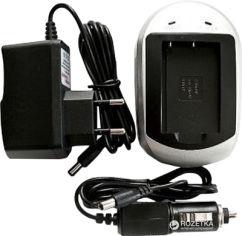Акция на Зарядное устройство PowerPlant для аккумуляторов Samsung SB-P90A, SB-P180A (4775341222379) от Rozetka