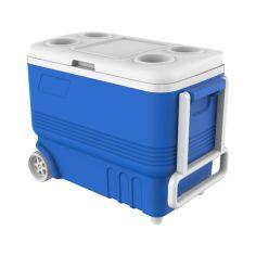 Акция на Термобокс 45л на колесах Kale синий 34*60*46 см mz1032 MAZHURA от Allo UA