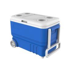 Акция на Термобокс 38л на колесах Kale синий 34*60*42 см mz1030 MAZHURA от Allo UA