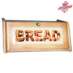 Акция на Хлебница деревянная пищевой Лак 18х40.5х27.5 см mz462195 MAZHURA от Allo UA