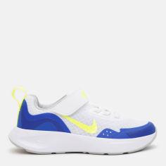 Акция на Кроссовки детские Nike Wearallday (Ps) CJ3817-104 30 (13C) 19 см Белые с синим (194957439584) от Rozetka